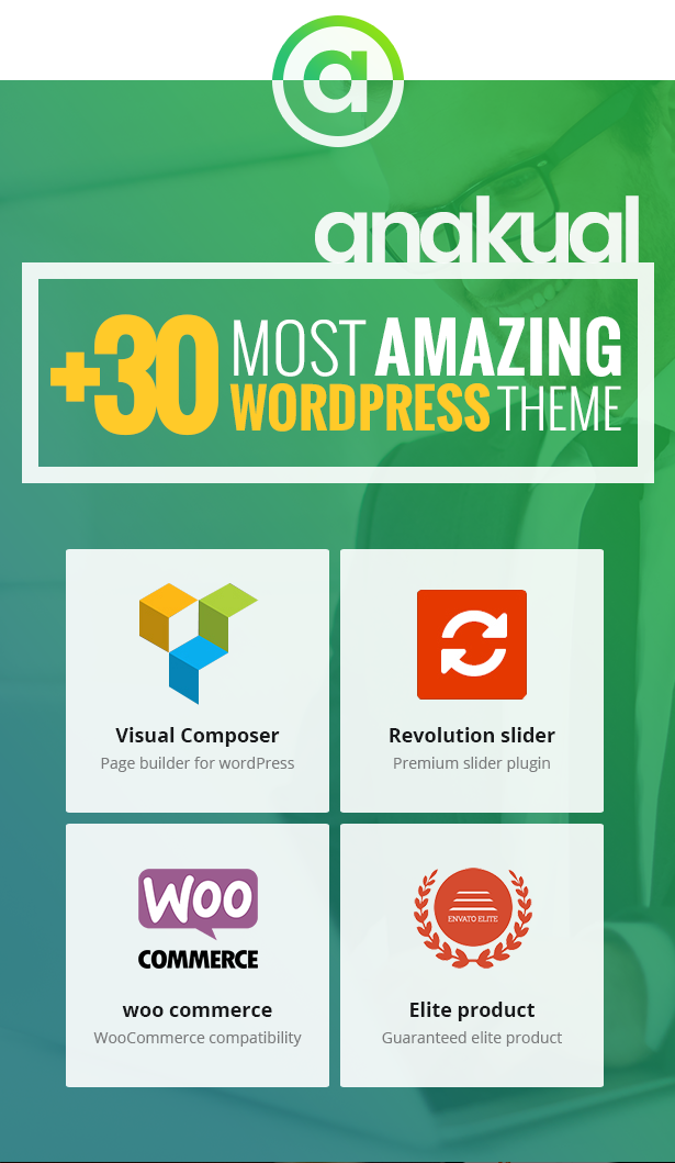 Download Anakual – Multipurpose Corporate and Creative WordPress Theme nulled desc img01