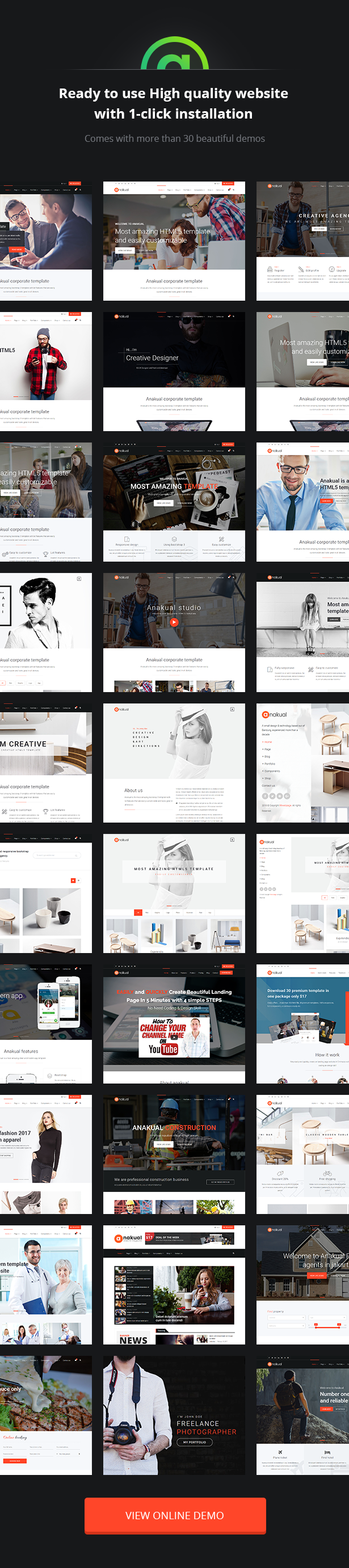 Download Anakual – Multipurpose Corporate and Creative WordPress Theme nulled desc img03